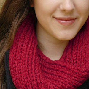 Cosy Scarf 'Learn To Knit' Kit - knitting kits