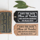 Save The Date Wedding Stamp With Border