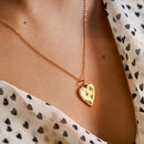 14 K Gold Fill Heart Necklace
