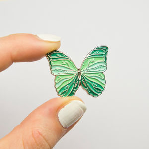 Butterfly Pin. Choice Of Colours