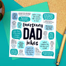 Emergency Dad Jokes Card