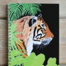 Bengal Tiger A5 Spiral Bound Notebook