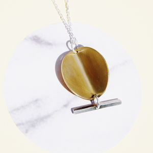 Electric Disc Necklace - necklaces & pendants