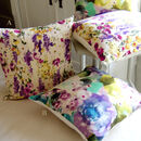 Watercolour Botanical Print Cushions
