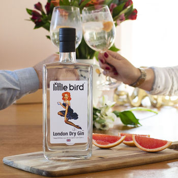 Personalised Little Bird Gin