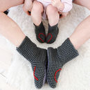 Mummy And Me Heart Slipper Sock Set