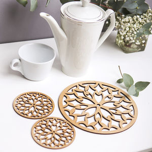 Somerset Tea/Coffee Placemat And Coaster Gift Set