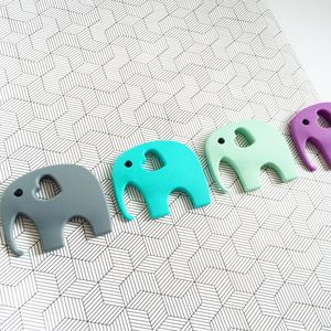 Silicone Elephant Teething Toy - baby shower gifts