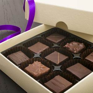 Luxury French Artisan Chocolate Nine Piece Collection