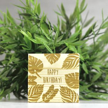 Personalised Birthday Grow Kit