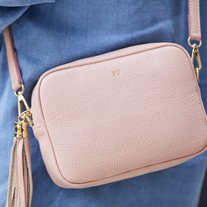 Leather Personalised Cross Body Bag - gifts for her