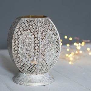 Open Moroccan Lantern - lighting