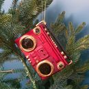 Kitsch Jukebox Or Boombox Tree Decorations