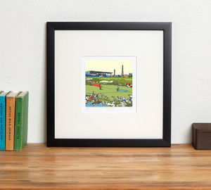 Carlisle United's Football Ground Brunton Park - posters & prints