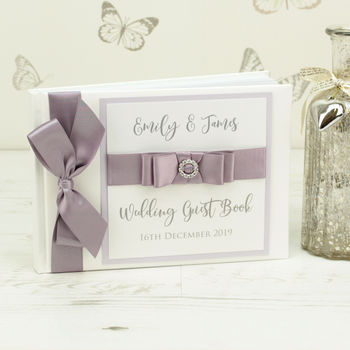 Personalised Dior Wedding Guest Book