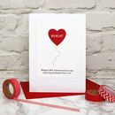 Personalise the heart with a name or date