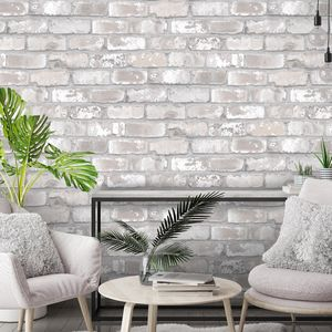 Exposed Brick Wallpaper By Woodchip And Magnolia - home decorating