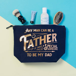 Men's Father's Day Toiletries Bag - wash & toiletry bags