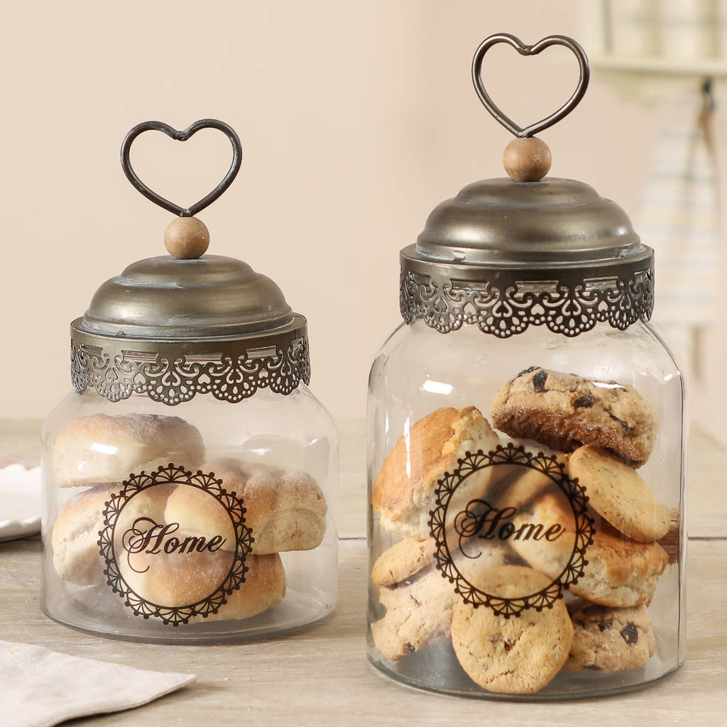 maison parisienne glass jar with heart lid by dibor rh notonthehighstreet com