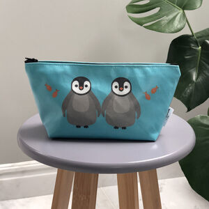 Penguin Pouch Bag / Small Wash Bag