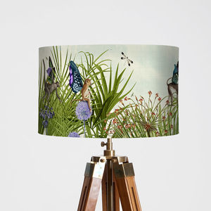 Monkey Canopy Lampshade - children's lighting
