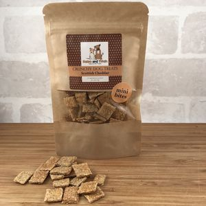 Natural Crunchy Dog Mini Bites Bag - dogs