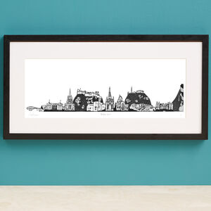 New York Skyline Screen Print