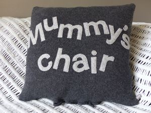 Mummy's Chair Cushion
