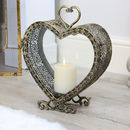 Heart Of The East Loveheart Candle Lantern