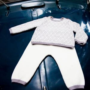Baby French Designer Knit Two Piece