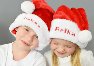 Personalised Christmas Santa Hat