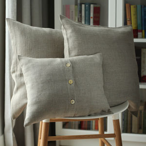 Lara Linen Decorative Cushion Covers - bedroom