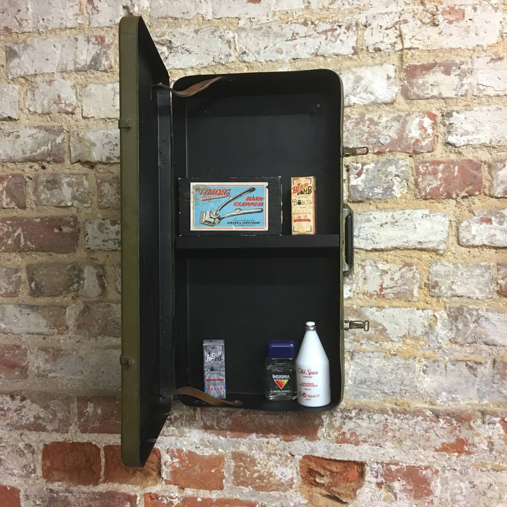 Upcycled Kitchen Cabinets: Upcycled Vintage Suitcase Bathroom Cabinet By The Rustic