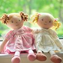 Rag Dolls Charlotte Or Vicky With Option To Personalise