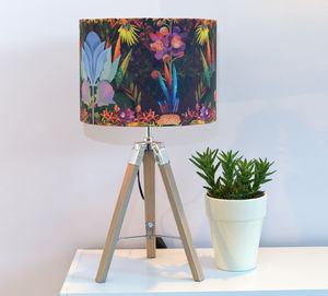 Stunning Tropical Garden Designer Lampshade - lighting