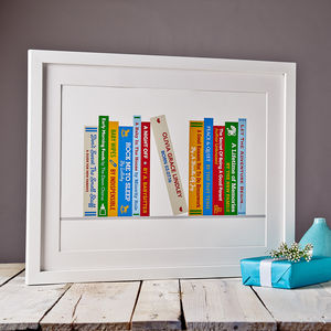 Personalised New Parents Books Print