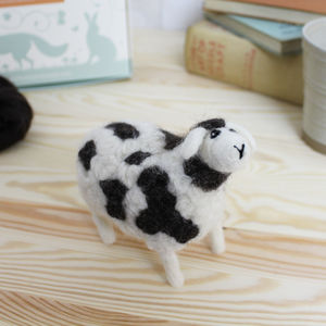 Jacob Sheep Needle Felting Kit