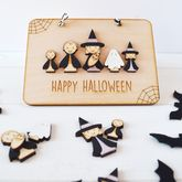 Personalised Halloween Family Sign - halloween