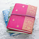 Handmade Sari Notebook