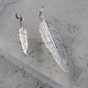 Feather Pendant - necklaces & pendants