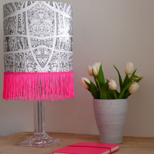 Hand Drawn Abstract City Lampshade - brand new partners