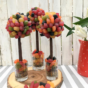 Personalised Wine Gum Sweet Tree - novelty chocolates