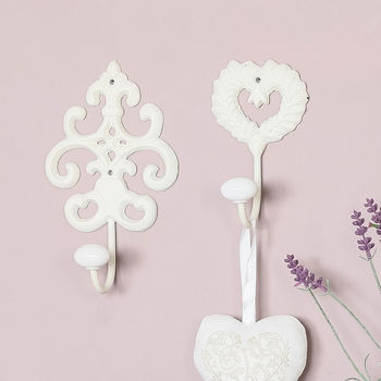 Elegant Parisian Wall Hooks Collection