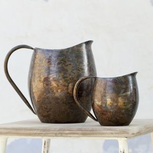 Beautifully Burnt Copper Jugs