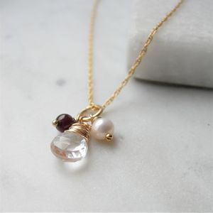 Winter Quartz Necklace