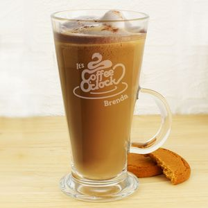 New In Stock Latte Glass