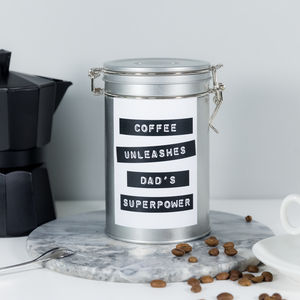 'Dad's Superpower' Coffee Gift Tin