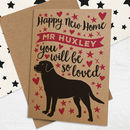 Happy New Home Card For Dogs