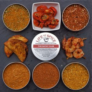 The Famous Five Street Food Rub Collection - sauces & seasonings