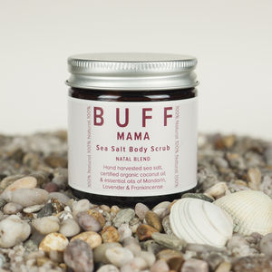 Buff Mama Sea Salt Body Scrub - mum & baby gifts